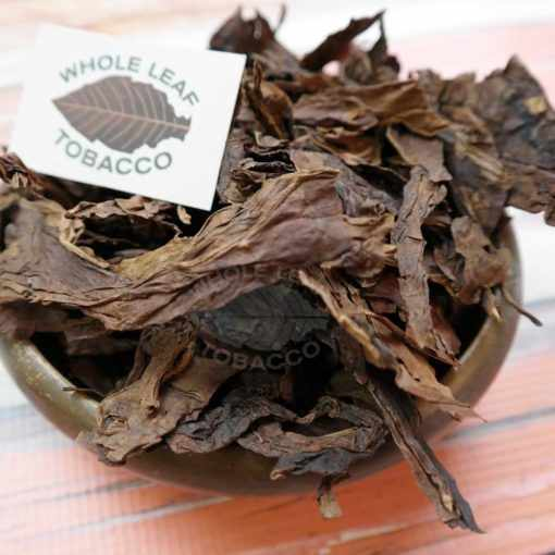 Fire Cured Threshed Tobacco in a bowl