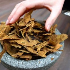 Prilep Tobacco being taken from bowl