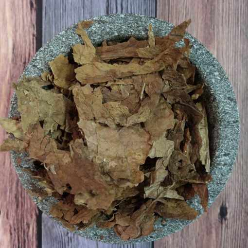 Threshed Maryland Tobacco Leaves, round
