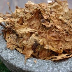 Virginia Threshed Tobacco Flue Cured in a bowl
